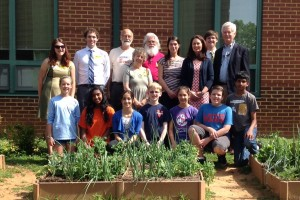 Students, Faculty, Alumni and Community Members at Sutherland Middle School joined for the public announcement that ACPS will be the first public school district to use solar under a PPA