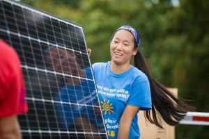 Secure Futures solar school student